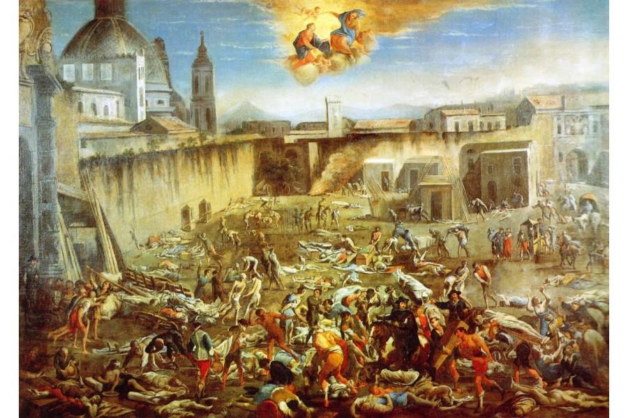 Napoli tra la peste 1656 e il covid1919